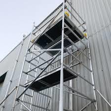 Moveable Aluminium Scaffolding Tower on Hire Service