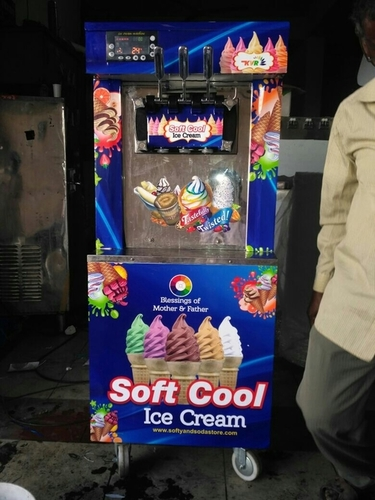 Soft Cool Ice Cream Making Machine in  Kukatpally