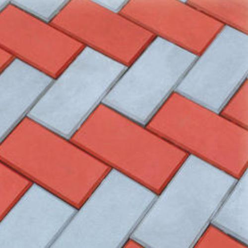 Solid Square Interlocking Bricks