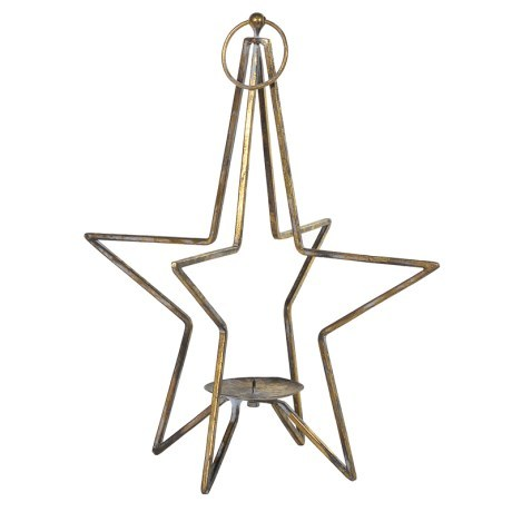 Appealing Look Star Candle Holder