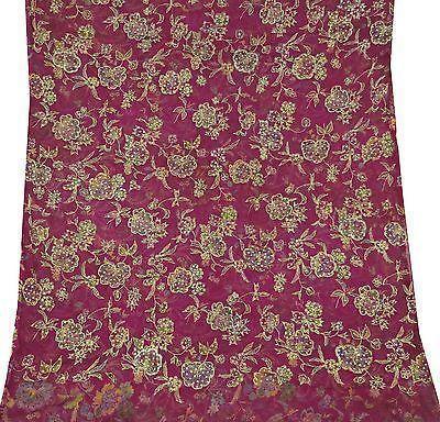 Chiffon Embroidered Fabric