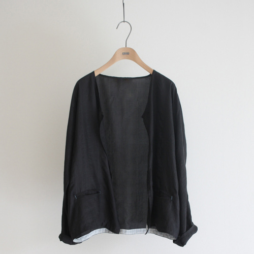 Black Ladies Handloom Silk Jacket