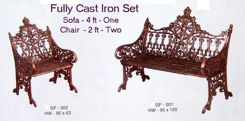 Cast Iron Sofa Set In Kharghar