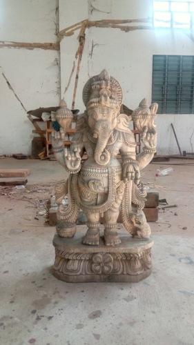 Elegant Ganesh Ji Sculpture