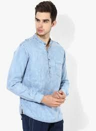 Mens Full Sleeves Denim Shirts