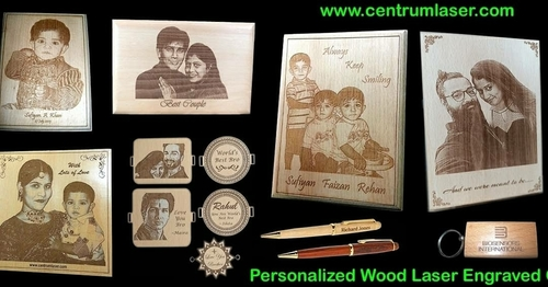 Wooden Laser Engraved Mementos