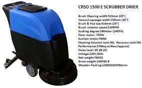 CRSD 1500 E Scrubber Drier