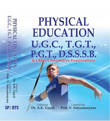 Physical Education Book For Ugc Tgt And Pgt