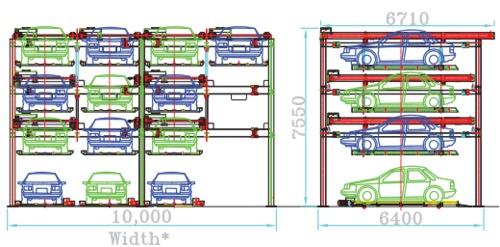 Smart Puzzle Parking System