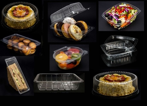 Plastic Containers For Bakeries