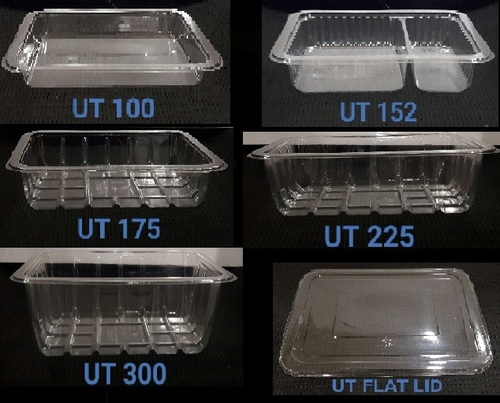 Plastic Disposable Utility Food Containers