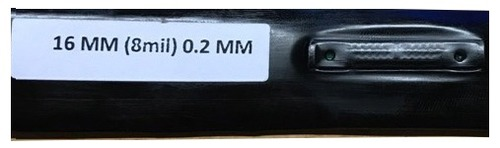 0.2mm Flat Inline Drip Pipe