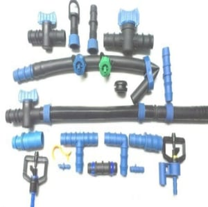 Drip Irrigation Pipes and Fittings