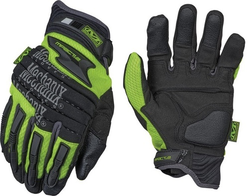 Safety M-Pact 2 Heavy Duty Protection Hi-Visibility Gloves