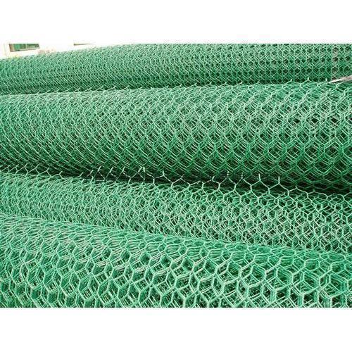 Green Hexagonal Fencing Net