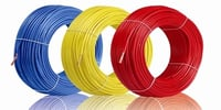 Three Color Cables Wires