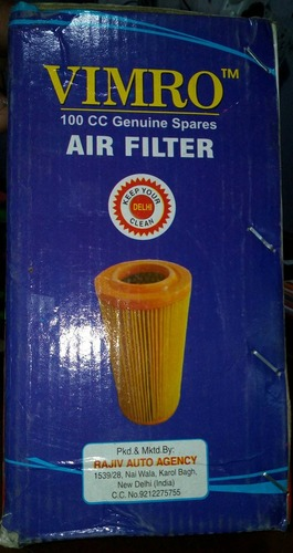 Two Wheeler Air Filter For 100 Cc Motorcycles