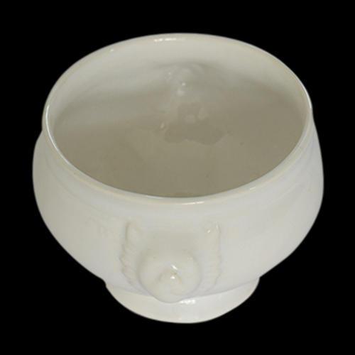 Crack Resistant Ceramic Soup Bowl