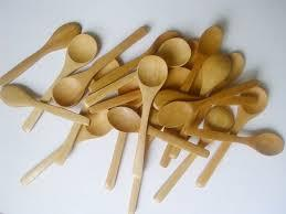 High Quality Wooden Mini Spoon