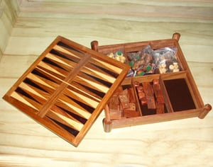 All In One Wood Game