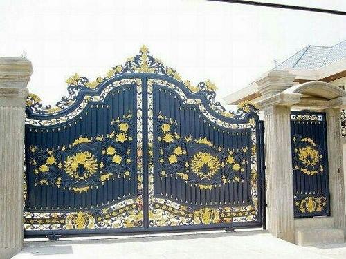 Design Caste Iron Residential Main Gate