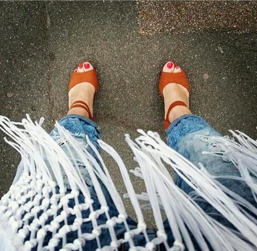 High Quality Long Fringe Laces