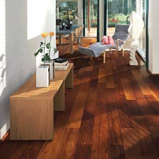 Merbau Decorative Flooring In Best Design