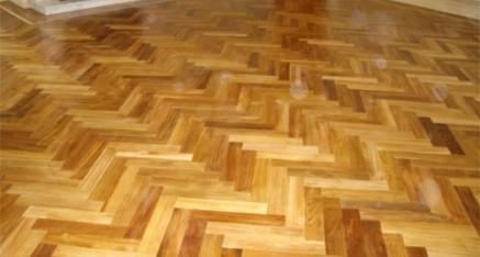 Parquet Teak Wooden Flooring