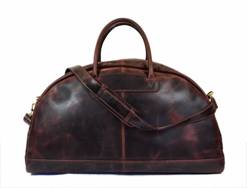 e1209ae4441f Leather Duffle Bags In Kanpur