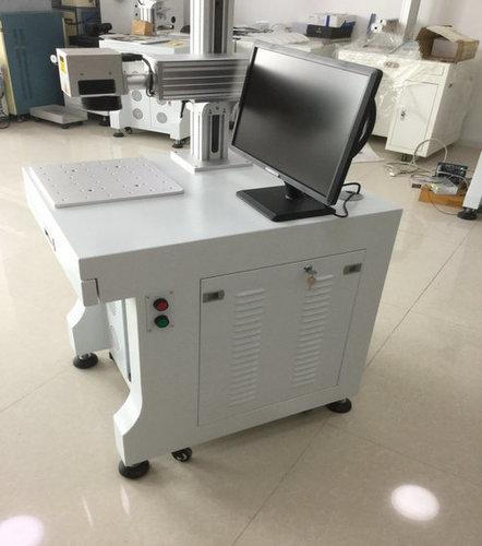 Fiber Laser Marking Machine On Auto Parts