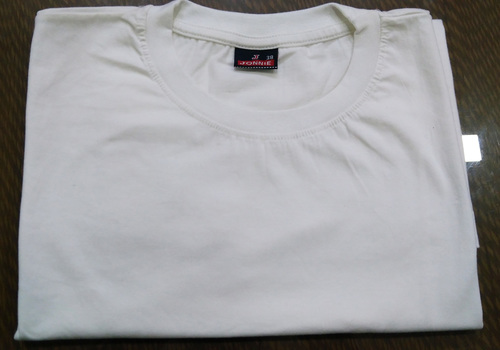 Plain Round Neck T-Shirt in  4-Sector