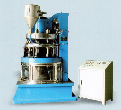 Rotary Automatic Powder Molding Press(With 2nd Pressing)