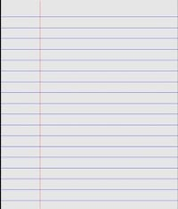 Ruled Paper For Notebooks