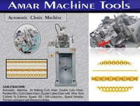 Cable And Curb Chain Machine