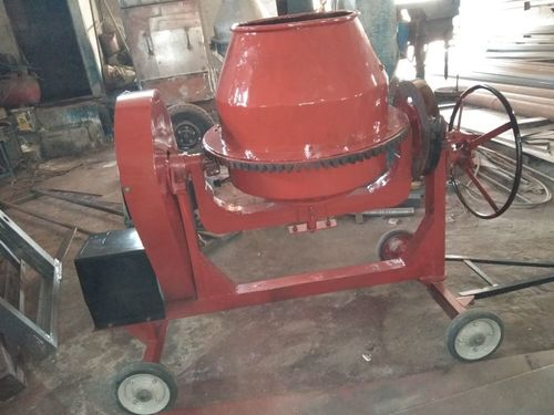 Concrete Mini Mixer Machine 1/2 Bag