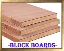 Hard and Thickness Block Boards