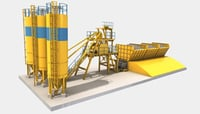 Accurate Weighing Concrete Batching Plants