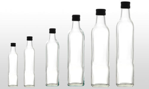 Glass Bottle For Edible Oil