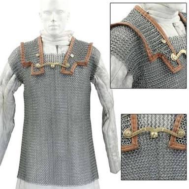 Mild Steel Chainmail Shirt
