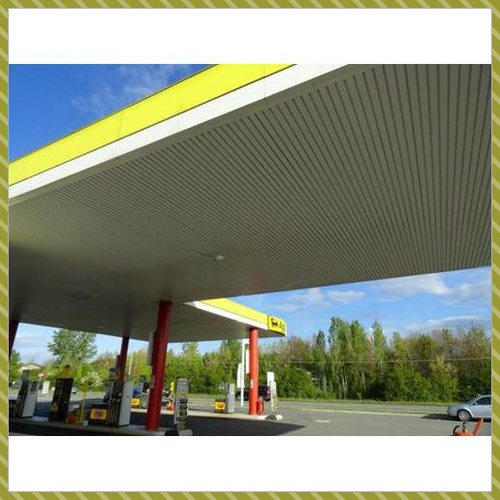 Petrol Pump Roofing Structure