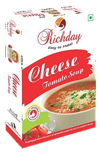 Instant Cheese Tomato Soup Mix (500G) Certifications: Fssai