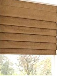 Remote Operated Roman Window Blinds