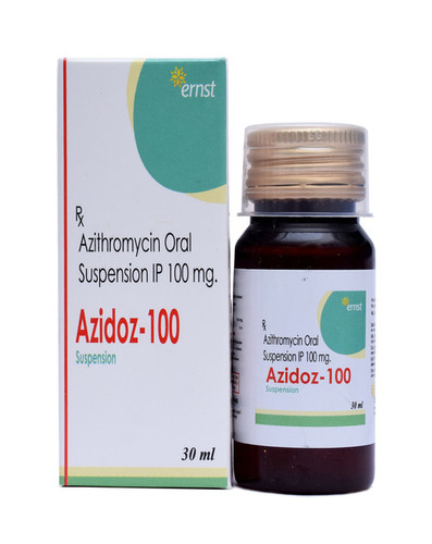 Azithromycin Oral Suspension Ip 100 Mg