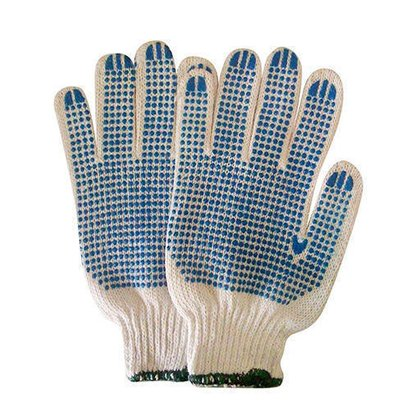 Dotted Safety Hand Gloves