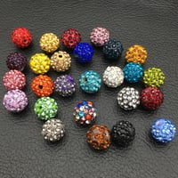 Wholesale Premium Crystal Spacer Shamballa Disco Pave Clay Ball Beads