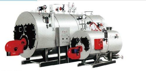 D-Shaped Steam Boiler