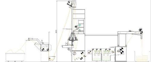 Automatic Rope Opening Slitting Washing Squeezing Machine