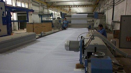 Blanket/Felt Open Width Compactor For Knit Cotton Fabrics