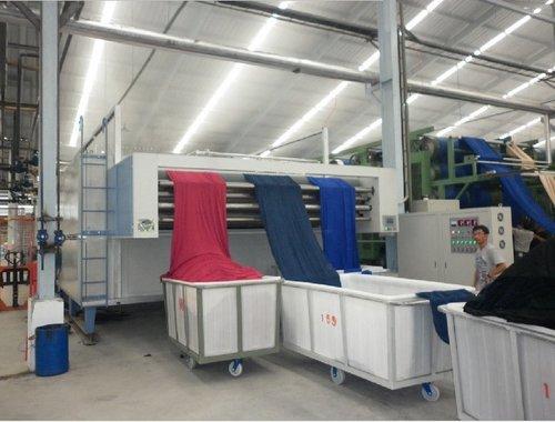 Shrink Dryer For Knitting Fabrics