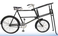 Low Gravity Front Basket Bicycle
